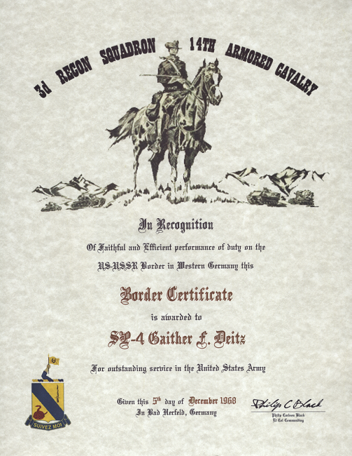 click on certificates to enlarge