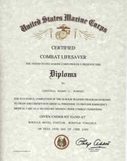life saving certificate template .