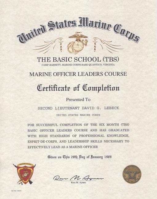 basic certificate