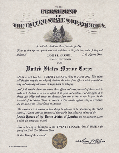 Officer S Promotion Certificate Form Dd 1